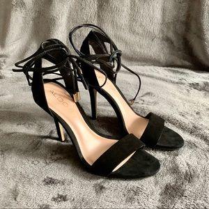 Aldo • Lace Up Casarolo Heels